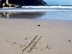 Kein Sand mehr am Meer